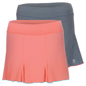 Women`s 13 Inch Pleated Tennis Skort