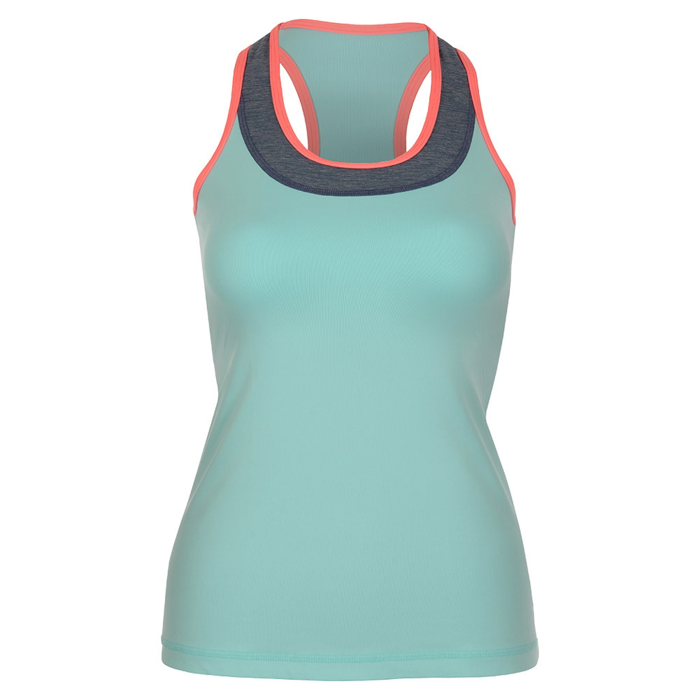 Women's Tennis Racerback Frosted Aqua