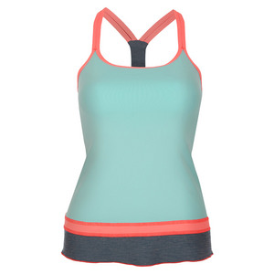 Women`s Tennis Cami Frosted Aqua
