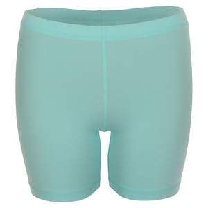 Women`s 5 Inch Tennis Shortie Frosted Aqua