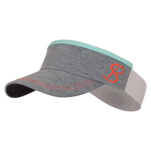 SOFIBELLA WOMENS ELASTIC TENNIS VISOR FIJI NIGHT