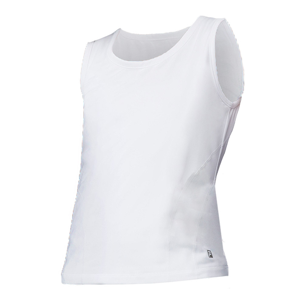 Girls ` Flow Tennis Tank White
