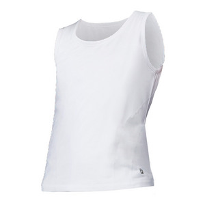 Girls` Flow Tennis Tank White