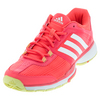 ADIDAS Women`s Adizero Ubersonic 2 Tennis Shoes Flash Red and White