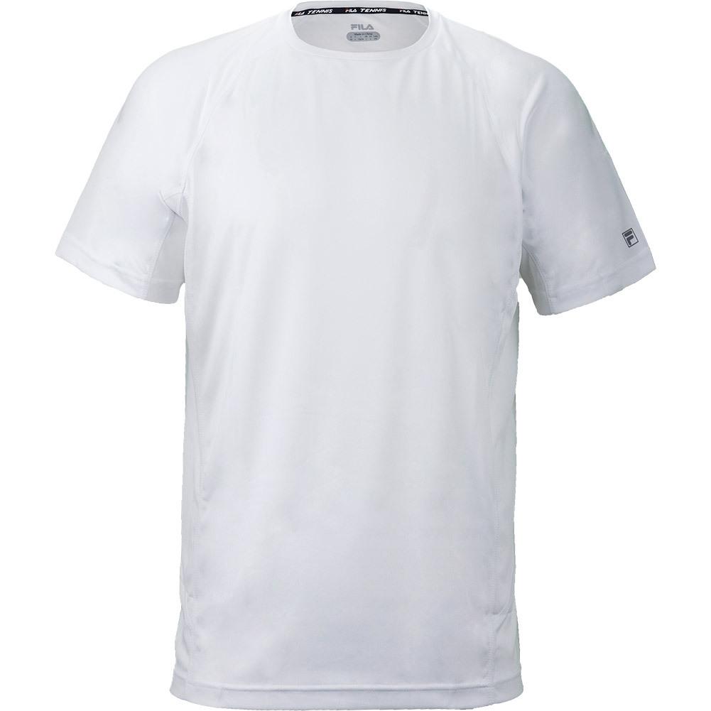 Men's Core Color Blocked Tennis Crew White