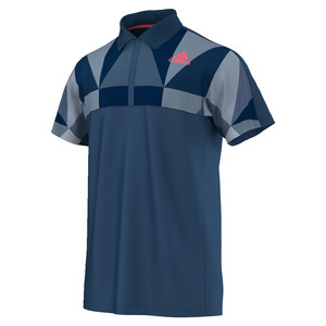 Men`s Pro Tennis Polo Tech Steel