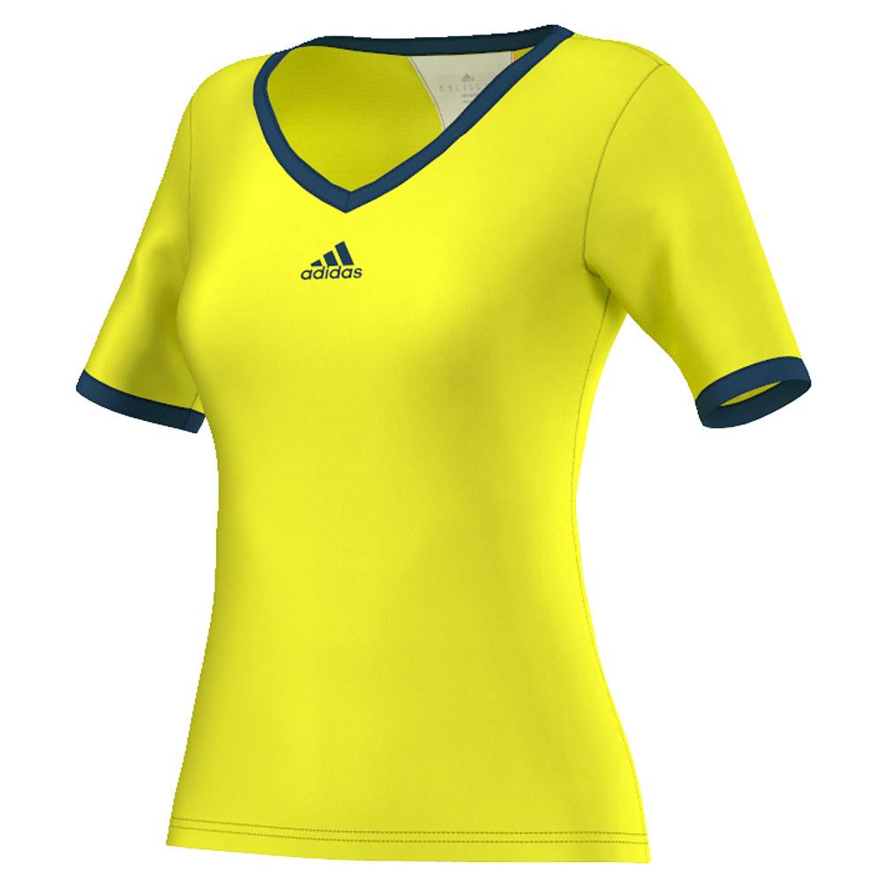 Women's Pro Tennis Tee Shock Slime