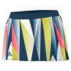 ADIDAS Women`s Pro Tennis Skort Tech Steel and White