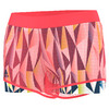 ADIDAS Women`s Pro Tennis Short Flash Red and Tech Steel