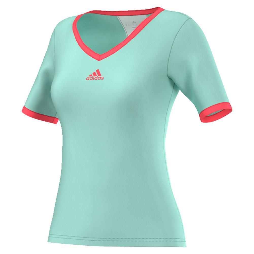 Women's Pro Tennis Tee Ice Green
