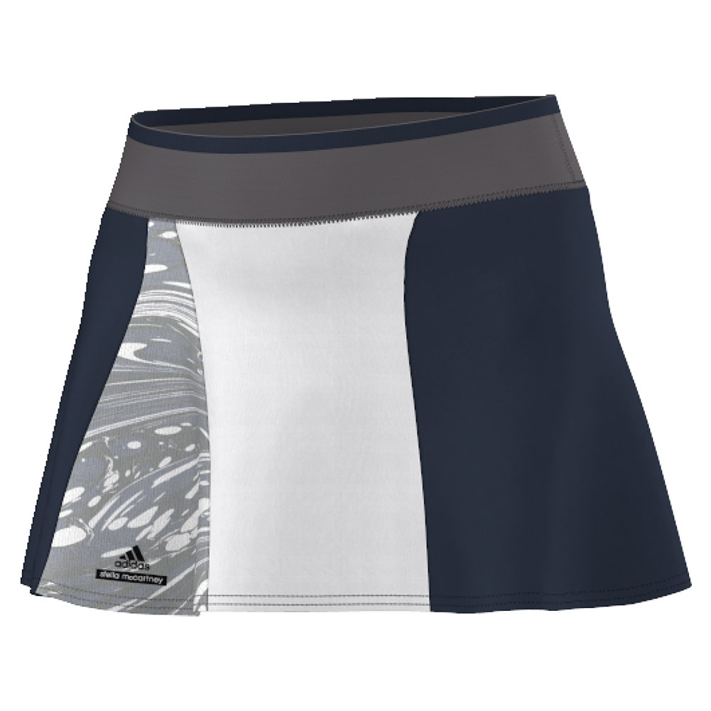 Women's Stella Mccartney Barricade 14 Inch Ny Tennis Skort Coll Navy And Oyst Gy