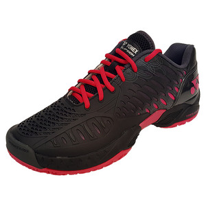 Men`s Power Cushion Eclipsion Tennis Shoes Black and Pink
