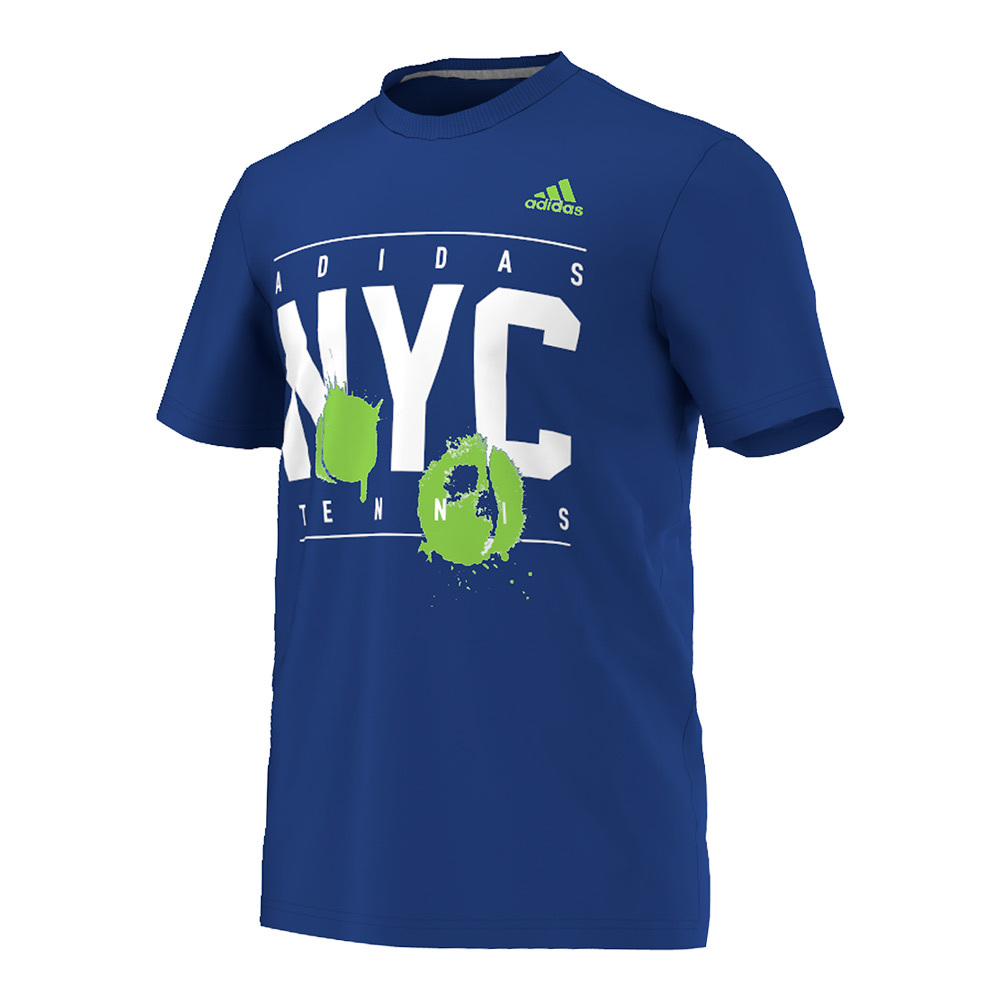 Men's Adi Nyc Tennis Tee Collegiate Royal