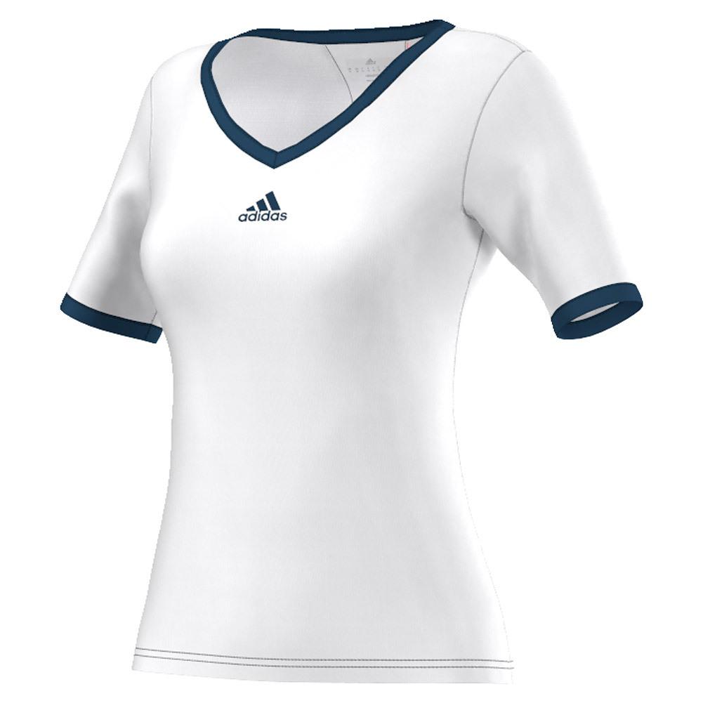 Women's Pro Tennis Tee White