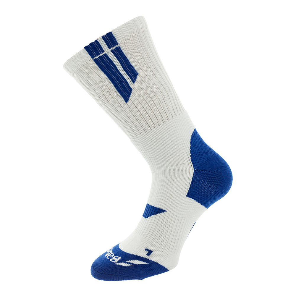 babolat men�s team big logo tennis socks