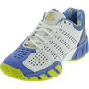K-SWISS Women`s Bigshot Light 2.5 50th Tennis Shoes White and Ultramarine