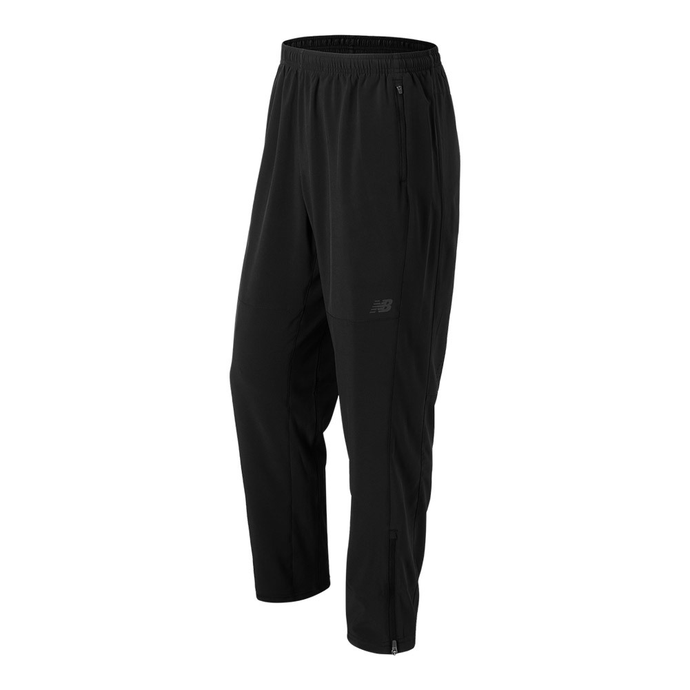 Men's Windcheater Tennis Pant Black