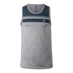 Men`s Dudley Tennis Tank Heather Griffin