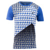 ATHLETIC DNA Men`s Pyramid Match Tennis Crew Royal
