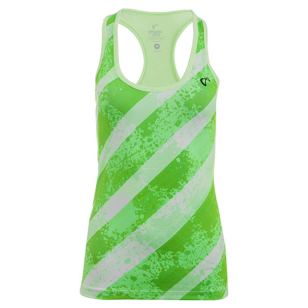 Women's Splash Refresh Tennis Tank Lime