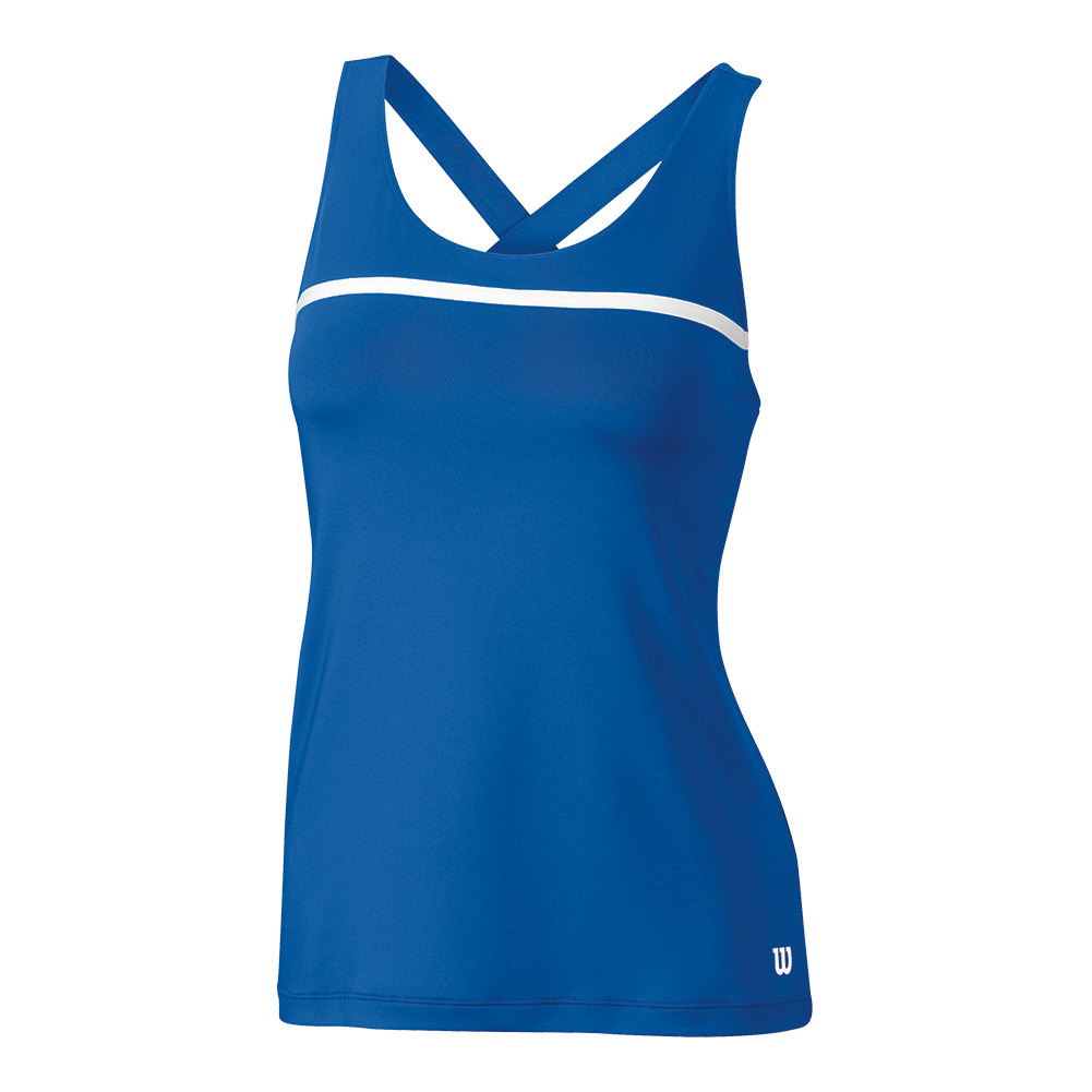 Women's Team Tennis Tank New Blue