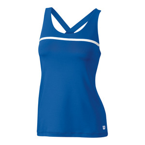 Women`s Team Tennis Tank New Blue