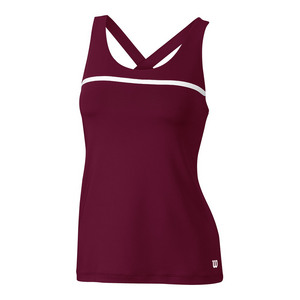 Women`s Team Tennis Tank Cardinal