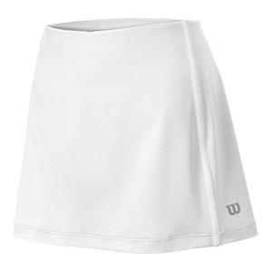 Women`s Team Tennis Skort White