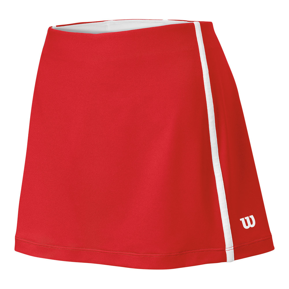 Women's Team Tennis Skort Wilson Red