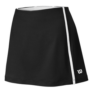 Women`s Team Tennis Skort Black