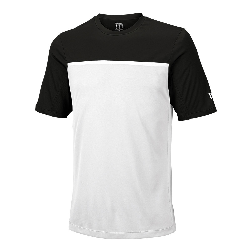 Men's Team Tennis Crew Black