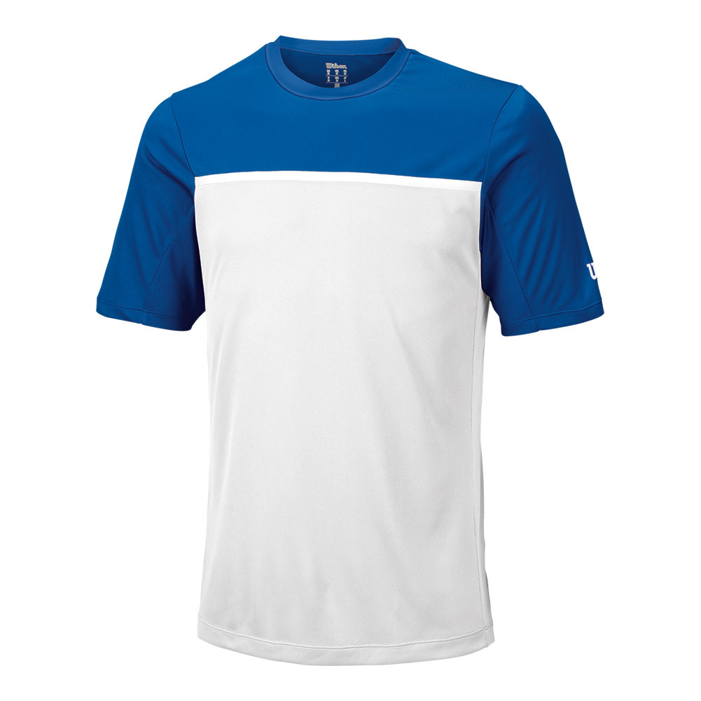 Men's Team Tennis Crew New Blue