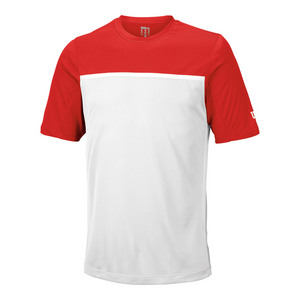Men`s Team Tennis Crew Wilson Red