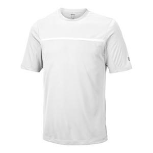 Men`s Team Tennis Crew White