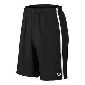 Men`s Woven 10 Inch Tennis Short Black