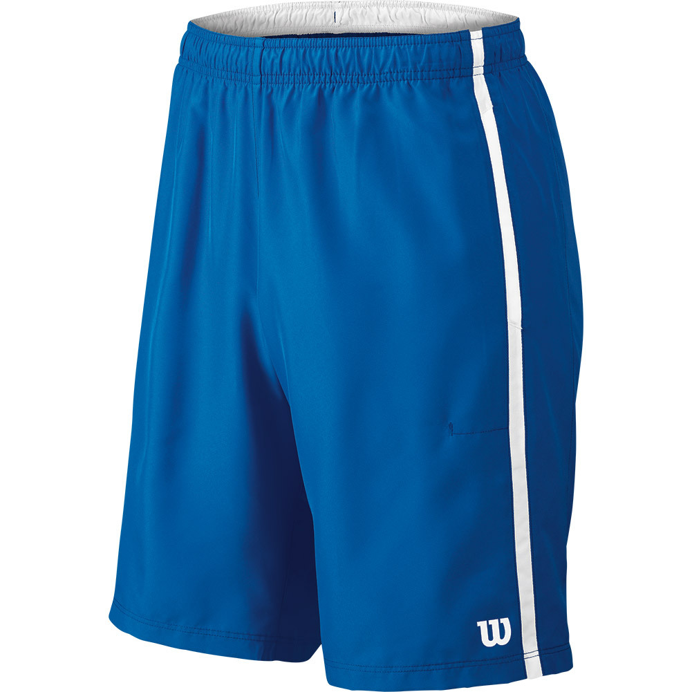 Men's Woven 10 Inch Tennis Short New Blue