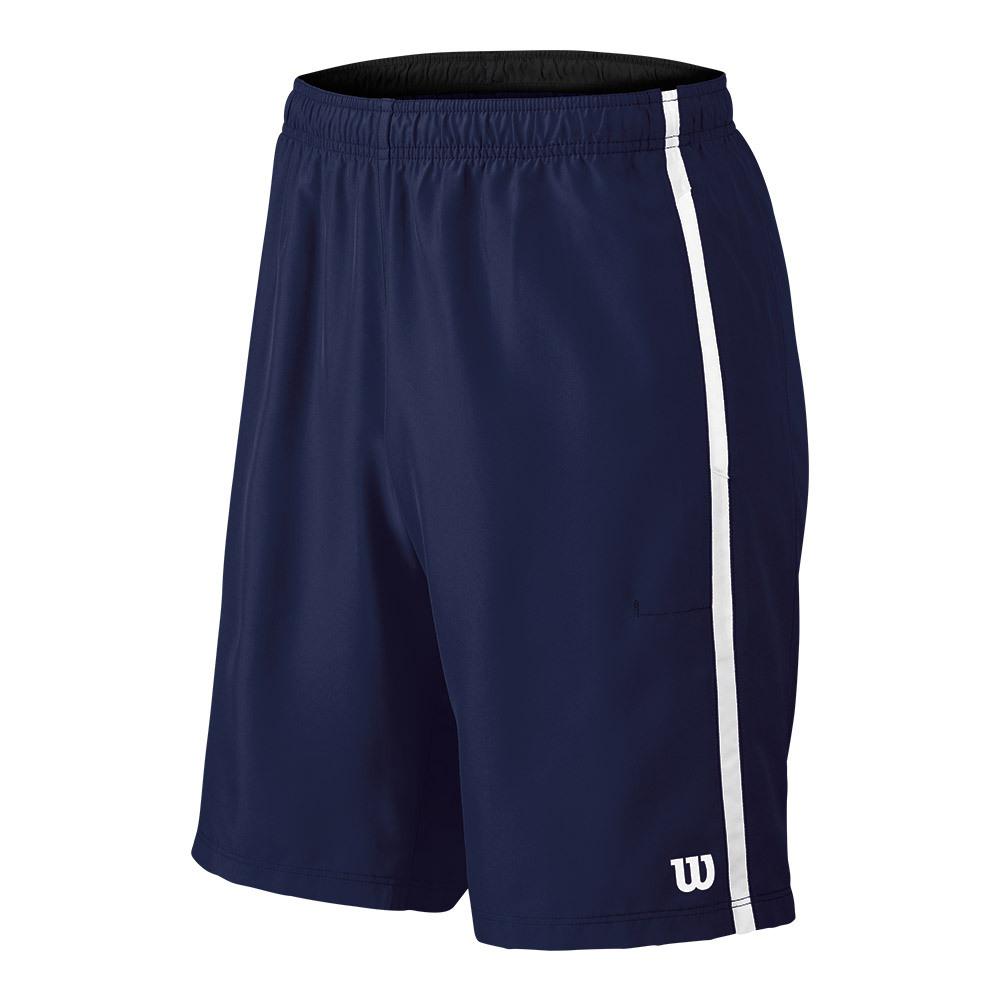Men's Woven 10 Inch Tennis Short Navy