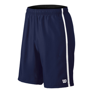 Men`s Woven 10 Inch Tennis Short Navy