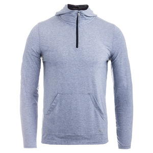 Men`s Kick It Tennis Half Zip Gray Heather