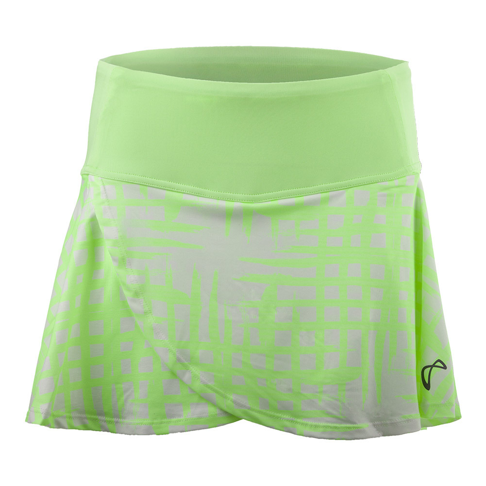 Girls ` Broken Fence Tulip Tennis Skort Lime
