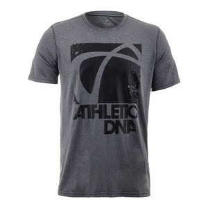 Men`s Graphic Tennis Tee Dark Heather Gray