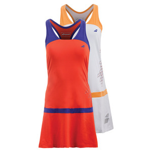Women`s Perf Racerback Tennis Dress