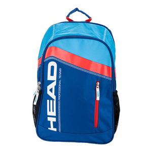 HEAD CORE TENNIS BACKPACK NITRO BLUE/FLAME