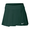 NIKE Women`s Court Power 13 Inch Tennis Skort Midnight Turquoise