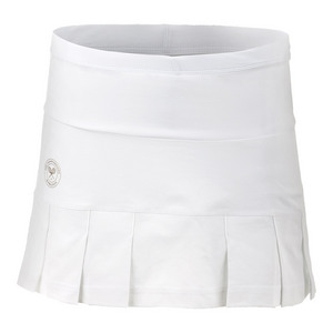 Women`s Wimbledon Tennis Skirt White