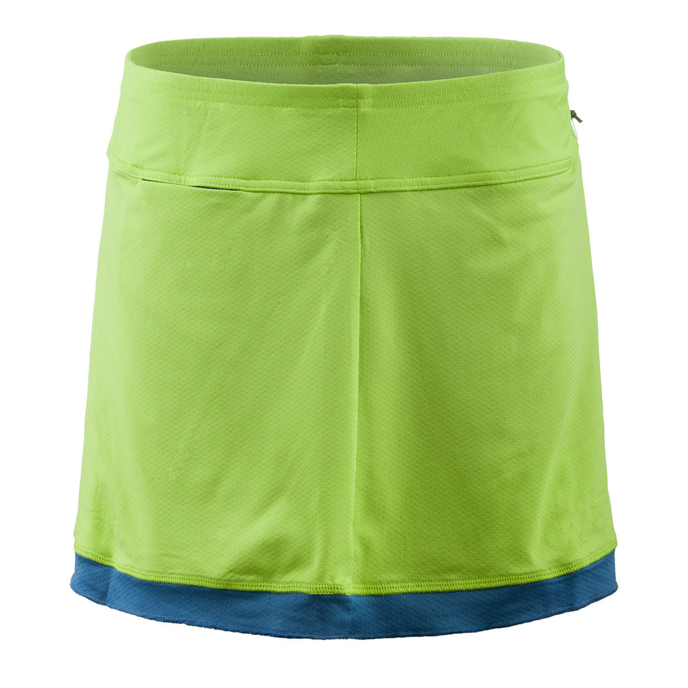 Women's Banded Swing Tennis Skort Green Apple