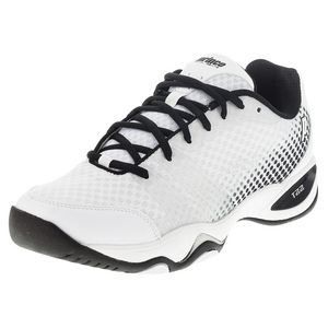 Men`s T22 Lite Tennis Shoes White and Black