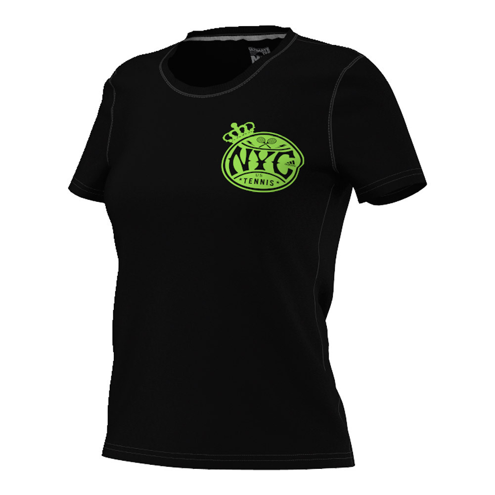 Women's Adi Us Open Tennis Tee Black