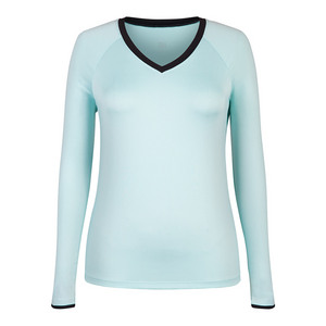 Women`s Patrice Long Sleeve Tennis Top Sea Foam