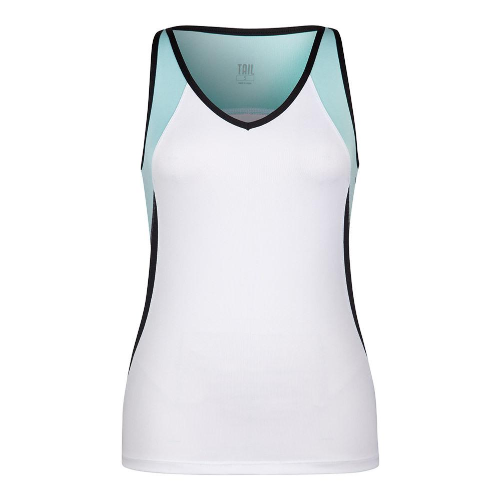 Women's Judy Tennis Tank White